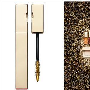 NIB clarins mascara top coat gold full size